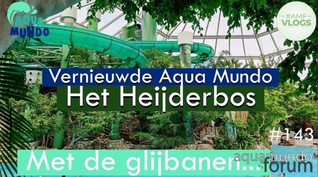 Aqua Mundo vernieuwd op Center Parcs Het Heijderbos