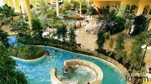 Center Parcs bespaart met vloeibare zwembadafdekking