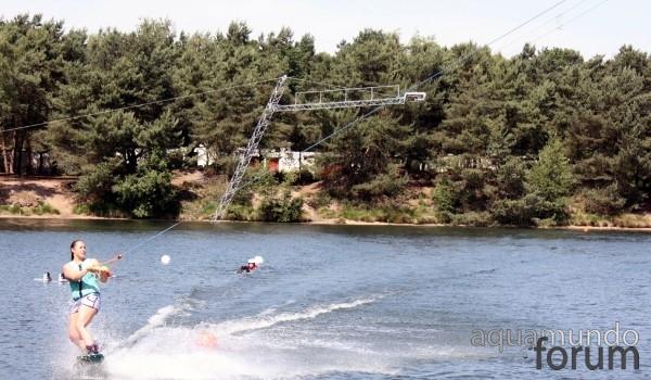 Nieuwe waterskibaan in De Vossemeren