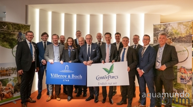 Center Parcs en Villeroy & Boch bundelen krachten in meerjarig partnership