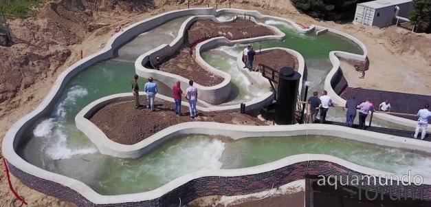Gloednieuwe wildwaterbaan Center Parcs Park Zandvoort doorstaat eerste vuurdoop